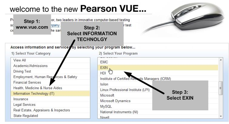 Itil Foundation Exam At Vue Pearson
